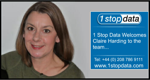 1 Stop Data Welcomes Claire Harding