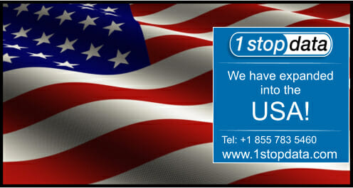 1 Stop Data Expand Into USA
