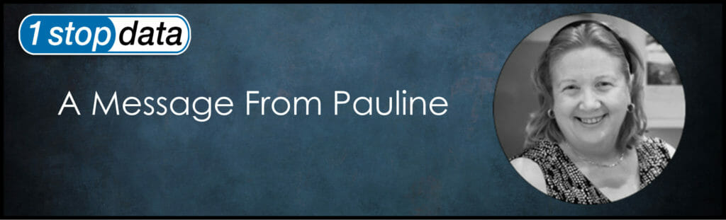 A Message from Pauline