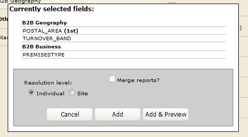 OSCAR 3 - Cross-tab Reports
