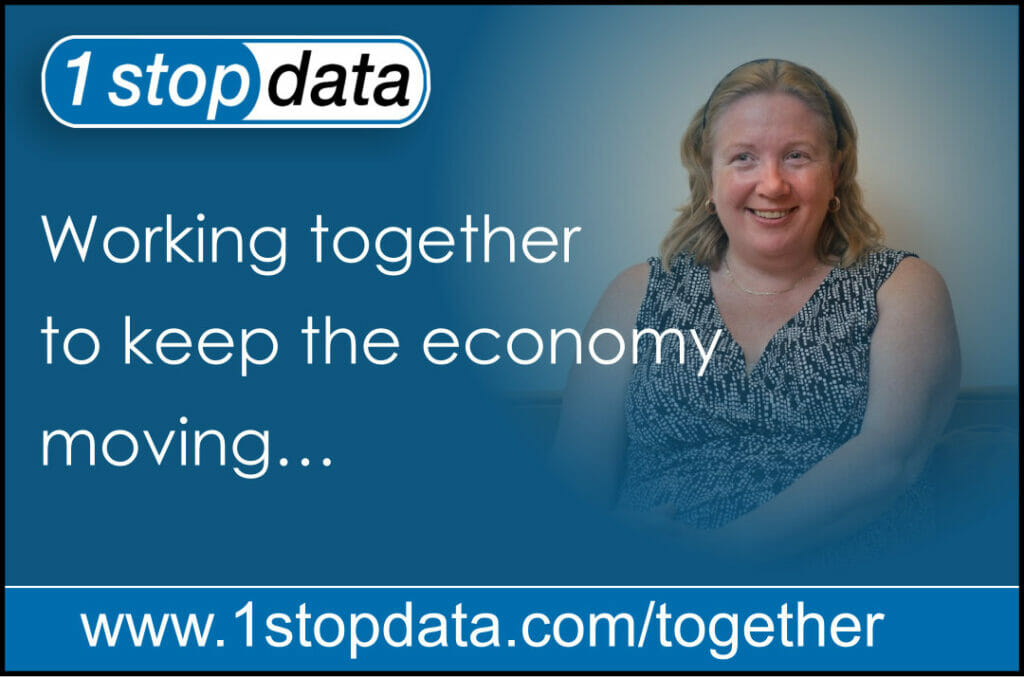 1 Stop Data | Working Together to Keep the Economy Moving